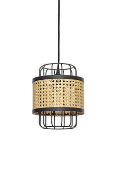 Suspension Piou-piou - Noire Petite Ceiling Lamp, Ceiling Lights, Rattan Lamp, Bamboo Art, Pendant Chandelier, Lamp Light, Decoration, Design Inspiration, Interior Design
