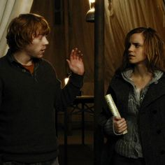 Ron and Hermione ~ Harry Potter and the Deathly Hallows
