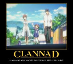Clannad! The best anime ever :3