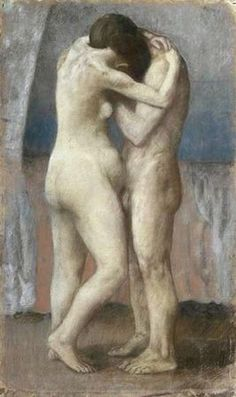 The Embrace (1903) - Pablo Picasso