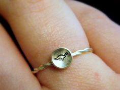 It's a teeny tiny brontosaurus!! so sweet and dainty for such a large animal.