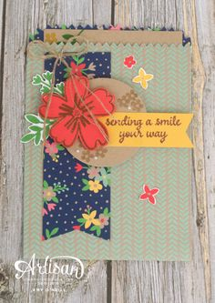 Sending a Smile with Affectionately Yours Suite — Stampin' Up! Artisan Blog Hop | Amy's Paper Crafts