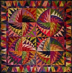 cactus flower quilt | Margy's Musings: July 2010