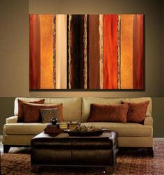 Original Art Painting 36 x 24 Abstract by AdrianaMontgomery, $195.00
