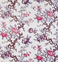 Rocca | Prints | Fabrics | Robert Kime Ltd. | Antiques | Fabrics | Wallpapers | Furniture | Lighting | Carpets | Accessories |