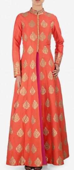 Beautiful. Indian Wedding Outfits, Pakistani Outfits, Indian Outfits, Anarkali Dress, Lehenga, Sarees, Kurta Designs, Blouse Designs, Ethnic Fashion