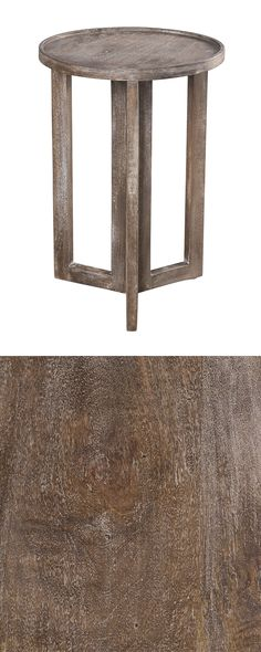 Keep a beverage, snacks, and the television remote in reach during your routine binge-watching sessions with the aid of this stunning side table. Made with handsome smoke-finished mango wood, this Aria...  Find the Aria Side Table, as seen in the A Rustic Home for the Holidays Collection at http://dotandbo.com/collections/styleyourseason-a-rustic-home-for-the-holidays?utm_source=pinterest&utm_medium=organic&db_sku=114537