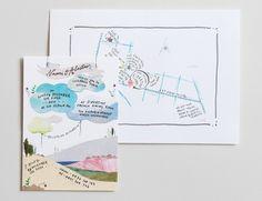 Luci Everett collage invitation