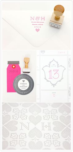 Mae Mae Paperie's new wedding invitation collections!   Pretty Paper   100 Layer Cake