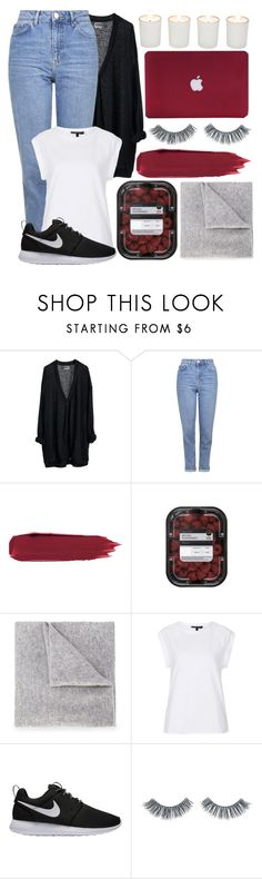 """""""#60"""" by oneandonlyfashion ❤ liked on Polyvore featuring MTWTFSS Weekday, Topshop, Lucien Pellat-Finet, NIKE, Napoleon Perdis and Witchery"""