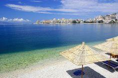 Kiesstrand bei Saranda ◆Albanien – Wikipedia https://de.wikipedia.org/wiki/Albanien #Albania