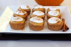 Mini pumpkin pies, Mini pumpkins and Pumpkin pies on Pinterest