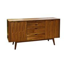 Lindenhurst Sideboard - Dot & Bo :: $950 (MDF and walnut veneer)
