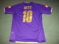 2007 2008 Fiorentina Mutu Football Shirt Top Maglia Adults XL Italy Classic  Football Shirts 9efda017a