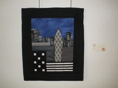 """City Lights"" by Mary Salus, Etobicoke Quilters' Guild"