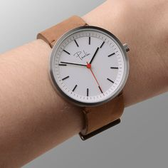 Glasgow-made watches by Paulin launch at Dezeen Watch Store.