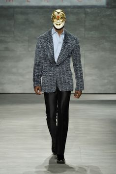 B Michael America Fall/Winter 2014 - New York Fashion Week #NYFW   Male Fashion Trends