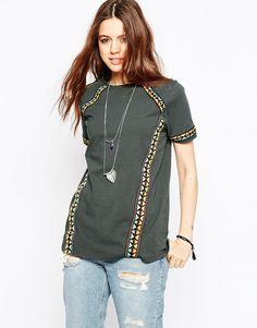 ASOS+Aztec+Taped+T-Shirt