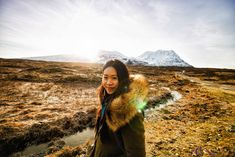 https://flic.kr/p/26BAQi5 | The Girl from Taiwan | I forgot her name and never got a chance to ask her again! She is an international student from Taiwan on her trip to Europe. And this place is near Loch Lomond where we stopped to see red deers.  Scotland, UK 2018