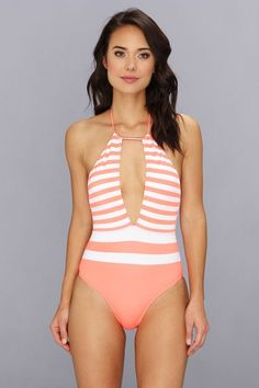 The 30 Best Swimsuits For $50 Or Less #refinery29  http://www.refinery29.com/cheap-swimsuits#slide-29  If you want to show skin up top, but not in full-on bikini form.