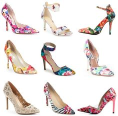 Kick up your floral heels                                                                                                                                                                                 More