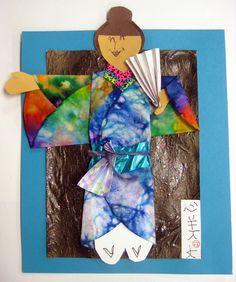 Cassie Stephens: In the Art Room: Self-Portrait in a Kimono