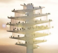 New Phoenix Observation Tower by Bjarke Ingels Group