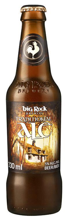 Big Rock Traditional Ale #craftbeer #bigrockbeer http://bigrockbeer.com/beer/signature-series