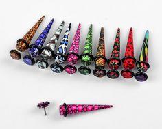 New Piercing Hombre Ombligo Ideas Fake Piercing, Piercing Tattoo, Ear Piercings, Ear Gauges, Body Piercing, Faux Écarteurs, Ear Tapers, Fake Gauge Earrings, Discount Sunglasses