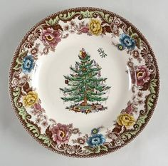Spode Christmas Tree Grove at Replacements, Ltd