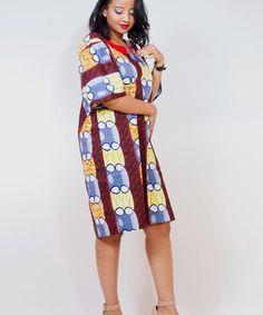 Boubou Brown Punk Dress by Hola Bella #GoEthnic #EthnicFashion #EthnicWear #EthnicStyle #BoutiqueAfricaine