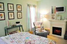 Cottage Home - eclectic - bedroom - charlotte - by Dwell by Cheryl Interiors
