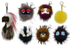 The Guide to Luxury Bag Charms for Fall from Fendi, Louis Vuitton ...