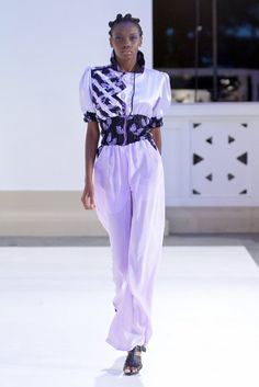 2011 Mozambique Fashion Week  Designer: Berta Niquisse