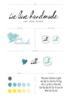 we love handmade relaunch by kerstin sterl, via Behance
