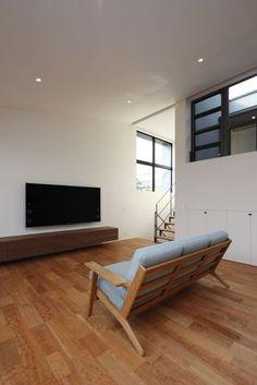 可児の家   株式会社SYNC Dining Bench, Sumika, Architecture, Interior, Furniture, Houses, Home Decor, Arquitetura, Homes