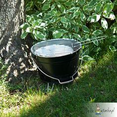 Przenośny grill kociołek BBQ