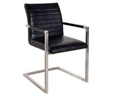 freischwinger earnest 50x90 cm grau vintage edelstahl möbel stühle, Esszimmer dekoo
