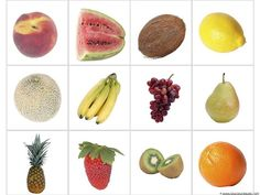 Fruit Match-Up and Memory Cards (Image from 1+1+1=1)