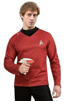 If Rory Williams was in Star Trek he'd be a redshirt. Doctor Who/Star Trek mashup