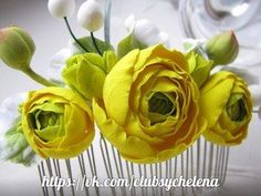 Цветы ручной работы Елены Сыч