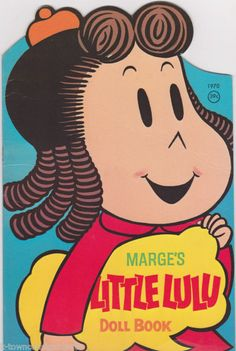 LITTLE LULU PAPER DOLL BOOK BY WHITMAN VINTAGE 1970s LARGE CHILDRENS PLAY SET | eBay