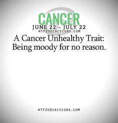 Daily Horoscope Cancer  wtfzodiacsigns
