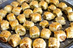 These Thai Chicken Sausage Rolls are perfect for a finger food buffet. They pair well w/ a glass of wine or beer, and boy are they tasty!