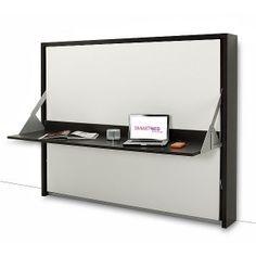 1000 images about lit convertible on pinterest armoires for Lit avec tv escamotable