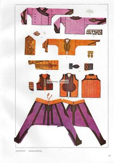 Costume Patterns and Designs Book Plate  by DustCoverPaperati, $8.00