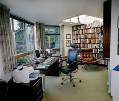 Real writers' locations for real writers aren't as pretty as the ideal home offices - you should see mine (not)