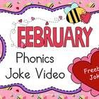 FREE for February - Phonics Joke Video!  Just push play!  Kids read the joke, write the missing letter from a series of words to create the punch line.  They sound out what they have written and predict what will come next.  This activity provides SO much reading practice, and KIDS LOVE IT!  Great for transition times.  My class does two jokes each day after recess.  It really helps them settle down and refocus.  Follow for a free video each month.