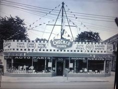 Checker Stores, West Main Street, Lexington, Kentucky