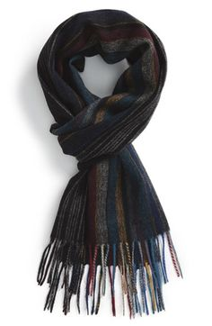 Paul Smith Stripe Wool Scarf available at #Nordstrom